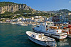 Marina Grande, the main port of call for ferries from Naples, Isle of Capri, southern Italy