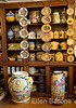 Orvietan ceramics' medieval and Etruscan designs are some of the prettiest in the region, Orvieto, Umbria, Italy