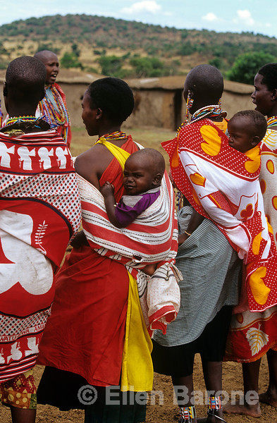 The Masai people of Kenya, East Africa.