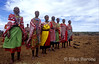 Samburu women dancers