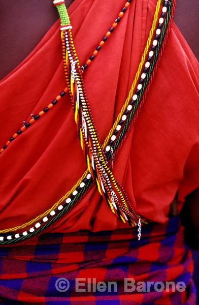 Maasai warrior detail