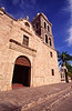 Loreto Mission, the Penisula's oldest, established in 1697, Sea of Cortez, Baja California Sur, Mexico.