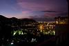 Hilltop view of San Juan del Cabo and harbor, Playa Grande Resort villas, Los Cabos, Baja Sur, Mexico
