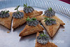 Puff pastry appetizers, Safari Quest, Sea of Cortez, Baja California, Mexico.