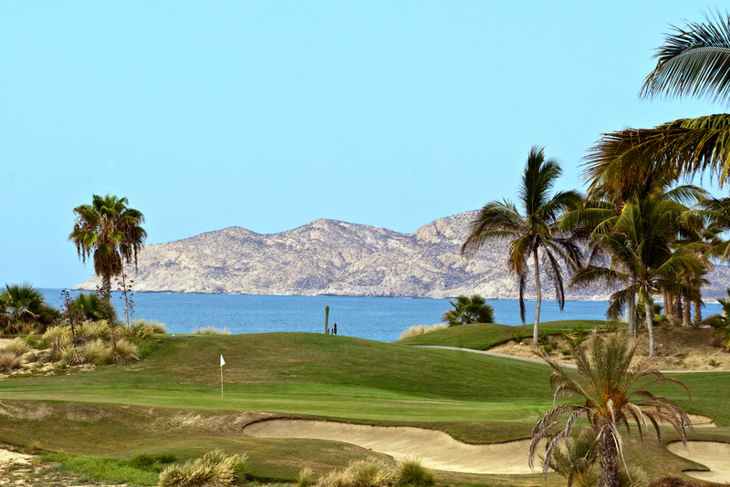 Arthur Hills Golf Course, Paraiso del Mar resort community and golf club, La Paz, Baja Sur, Mexico.