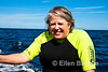 Safari Quest passenger Linda Graham sported this contagious grin the enitre voyage, Sea of Cortez, Baja California, Mexico.