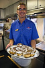 Safari Quest chef Craig White's famous sweet rolls, Sea of Cortez, Baja California Sur, Mexico.