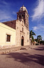 Loreto Mission, the Penisula's oldest, established 1697, Loreto, Sea of Cortez, Baja California Sur, Mexico