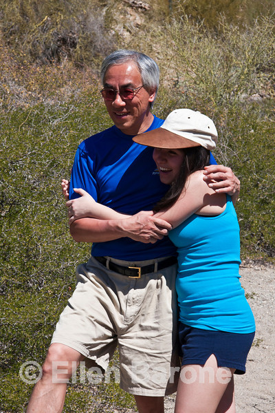 Safari Quest passengers Emma and Franklin Chu, Isla Danzante, Sea of Cortez, Baja California, Mexico.
