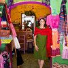 At tienda (store) El Buen Karma, Margarita del Castillo greets visitors with a smile and some of the best Karma in town.