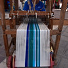 Weaver, arts fair, Lago de Chapala (Lake Chapala), Chapala, Jalisco, Mexico.
