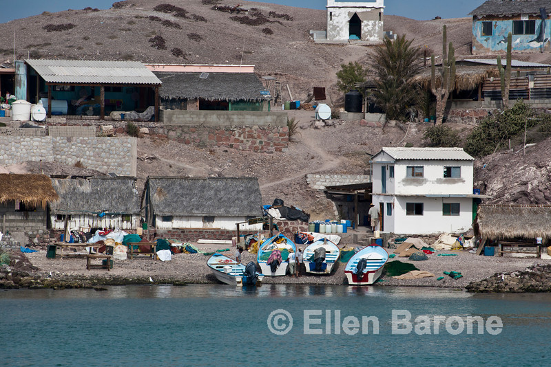 Isla Coyote (Pardito), a small fishing island where the Cuevas family has lived for almost one hundred years. Sea of Cortez, Baja California, Mexico.