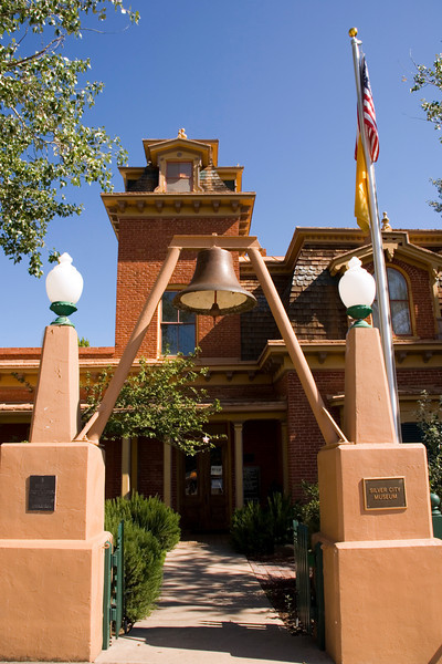Silver City Museum, Silver City, New Mexico. USA