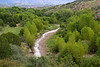 Bear Creek as viewed from Casitas de Gila Guesthouses and Art Gallery, Gila, New Mexico, USA. (Silver City environs)