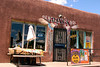 Dave's Not Here Restaurant, a popular local favorite, Santa Fe, New Mexico, USA.