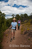 Hikers, Dale Ball trails, Santa Fe, New Mexico.