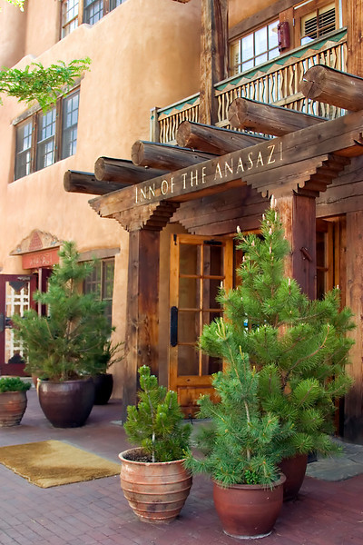 Inn of the Anasazi, Santa Fe, NM