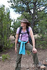 Wayfares walk leader, Monique Schoustra, Santa Fe, New Mexico