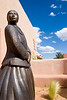Bronze, Kayenta by Doug Hyde, Museum of Indian Arts & Culture, Museum HIll, Santa Fe, NM.