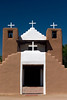 Church,Taos Pueblo, Taos, NM