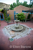 Courtyard, Abiquiu Inn, Abiquiu, New Mexico,