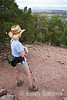 Hiker, Santa Fe, New Mexico