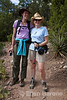 Wayfarer walk leader Monique Schustra and Lisa Gagliardi, Santa Fe, New Mexico.
