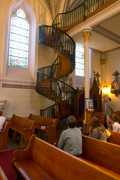 Miraculous Staircase, Loretto Chapel, Santa Fe, New Mexico