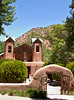 Santuario de Chimayo, site of an annual pilgrimage, is believed to have healing powers, Chimayo, New Mexico.