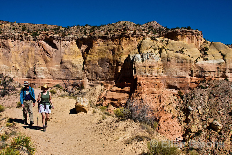 Wayfarers, Chimney Rock Trail, Ghost Ranch, Abiquiu, New Mexico.,