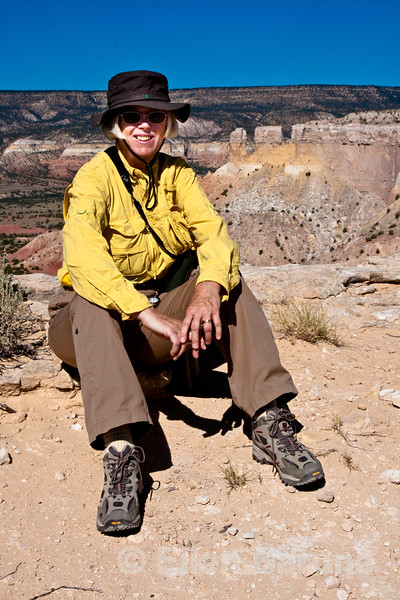 Wayfarer Ruth Wright-Piros, Ghost Ranch, Abiquiu, New Mexico.