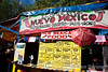 Fiesta food stall, downtown plaza, Santa Fe, New Mexico.