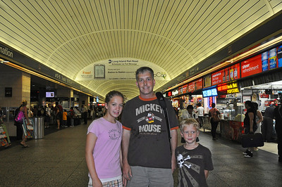 Penn Station-our starting point for the day.