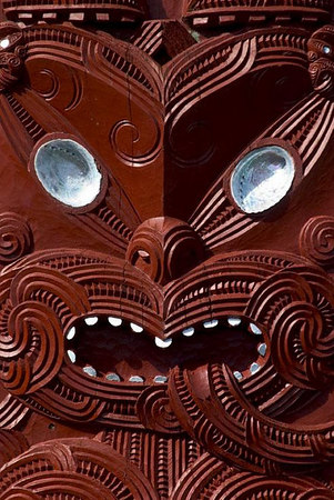 The New Zealand Maori Arts & Crafts Insitute takes visitors on an educational journey that unravels the mystery of Maori ways, Rotorua, North Island, New Zealand