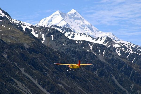Scenic flight, the southern alps, Mount Cook Ski Planes, Mount Cook National Park, South Island, New Zealand