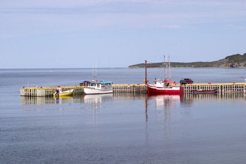 Rocky Harbour, northern peninsula, Newfoundland, Canada