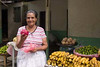 friendly fruit vendor, Catarina, Nicaragua, Central America