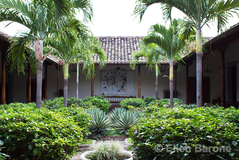 Hotel La Bocona, an intimate six guest room boutique hotel in Granada, Nicaragua, Central America.