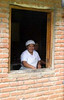 friendly cook, Finca Esperanza Verde Eco-lodge and Nature Preserve, nothern Nicaragua, Central America