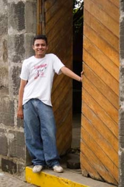 teen guide, Masaya arts and crafts marketplace, Masaya, Nicaragua, Central America