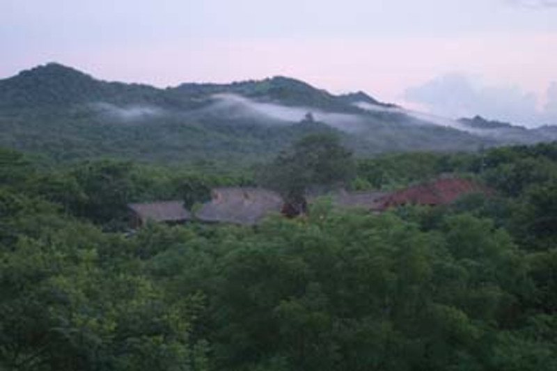 Morgan's Rock Eco-lodge, near San Juan del Sur, Pacific coast, Nicaragua, Central America