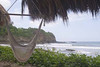 hammock swing, Morgan's Rock Eco-lodge, near San Juan del Sur, Pacific coast, Nicaragua, Central America