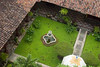 garden as viewed from atop the Cathedral, Leon, Nicaragua, Central America