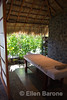 Spa, open-air treatment room, Jicaro Island Ecolodge, Lake Nicaragua.