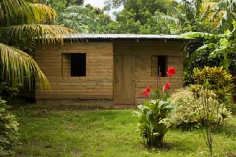wooden house, Nicaragua, Central America