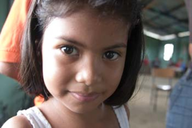 young girl, Nicaragua, Central America