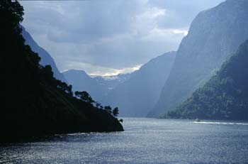 Stunning fjord scenery abounds in western Norway