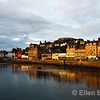 Oban Harbour view, western Scotland, U.K.