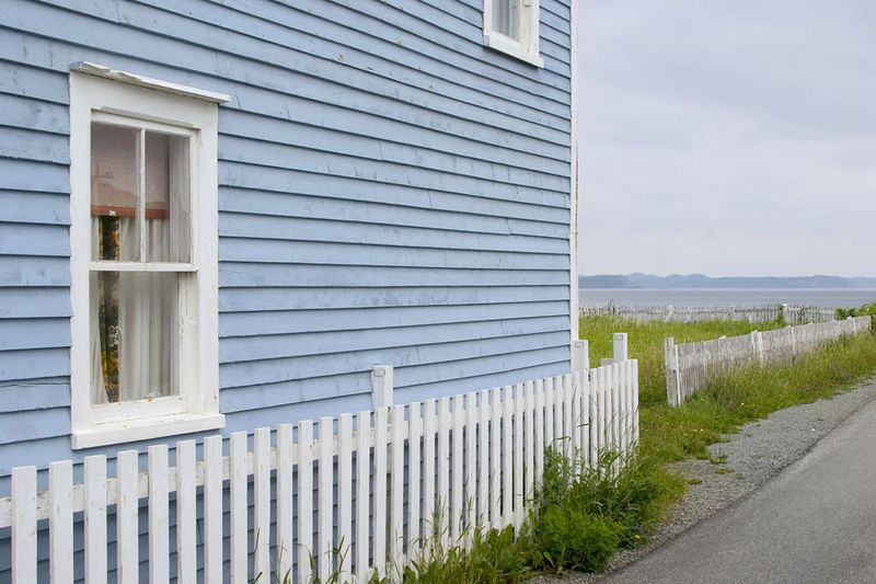 weathered house, Twillingate, Newfoundland, Canada