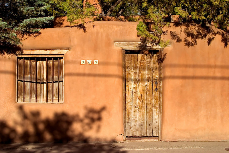Adobe architecture, Santa Fe, NM